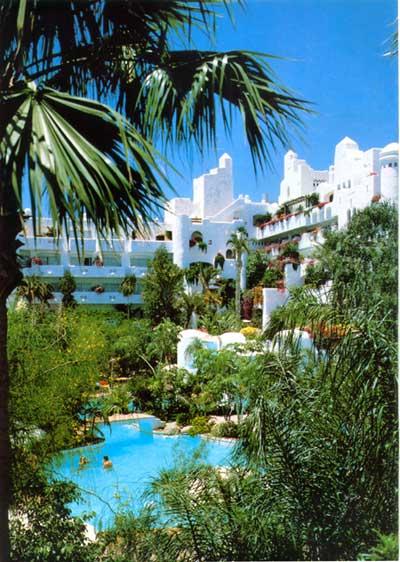 Гостиница jardin tropical бассейн нажмите