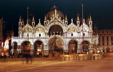 Венеция дворец дожей ночью нажмите