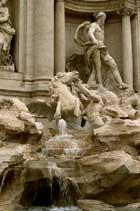 Фонтан Треви, Рим, Италия.