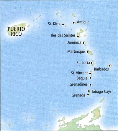 Круизы по карибам экзотика острова