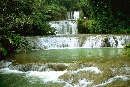 Экзотика о ямайка водопады на реке