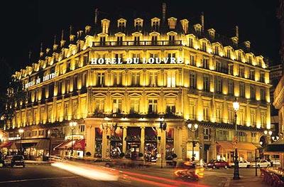 Гостиница louvre concorde 4 с кондиционером